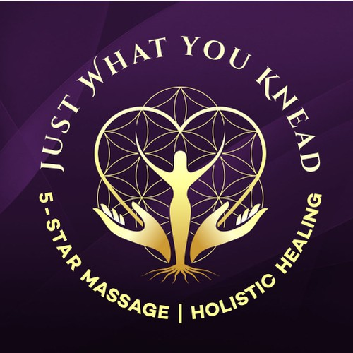Logo for Massage and wellness business