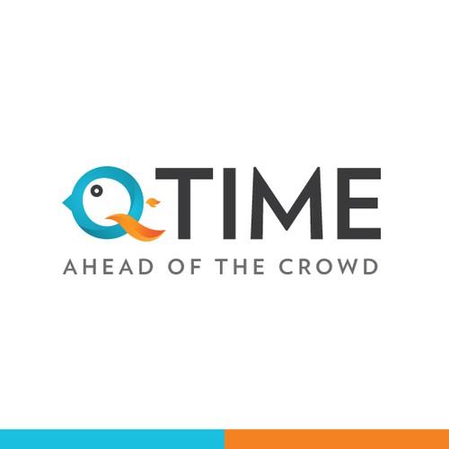 logo for Q TIME app.