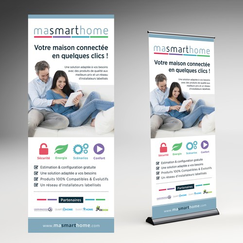 RollUp Banner Masmarthome