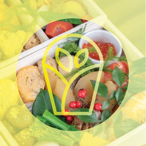 OEKO WRAPS Logo Design (Food and Pots Wrap)