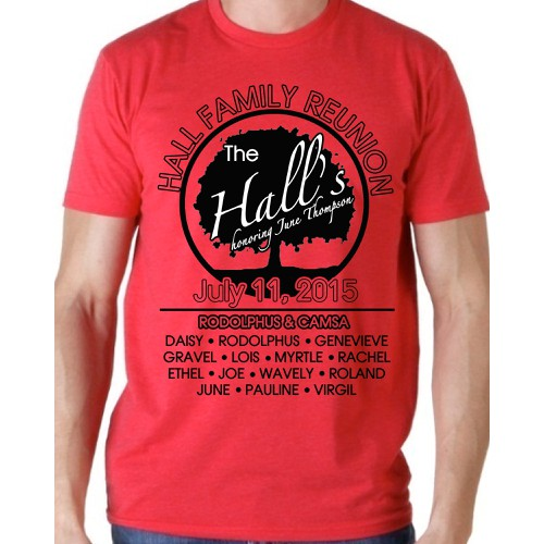 Hall Family Reunion T-Shirt