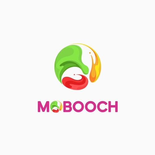 Mobooch logo design.