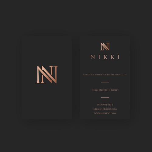 Nikki Logo and Business Cards