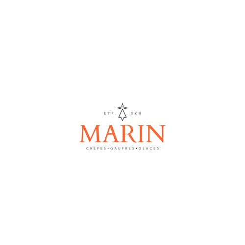Logo concept for Marin