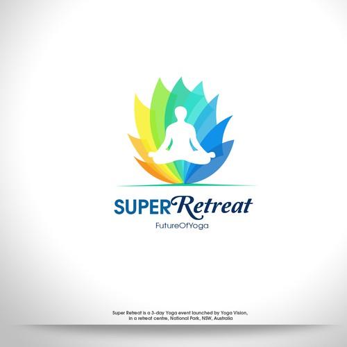 Logo For Super Retreat