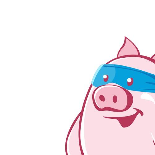 Mascot Super Pig