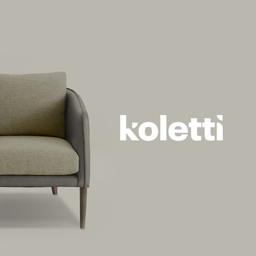 Logo concept for a Sophisticated Modern Furniture line