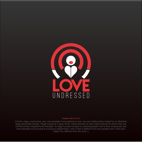 Logo Design for Love Undressed