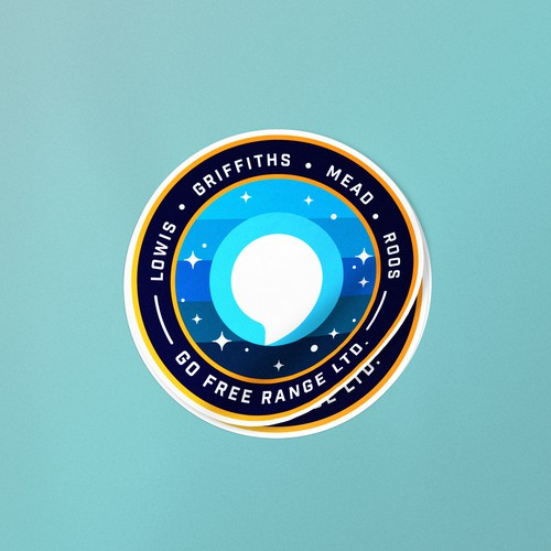 NASA Style Patch for Go Free Range