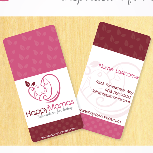 "Create the logo for Happy Mamas: ""Inspiration For Living"""