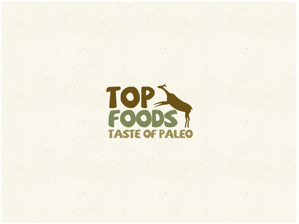 Create the next logo for Taste Of Paleo (TOP Foods)