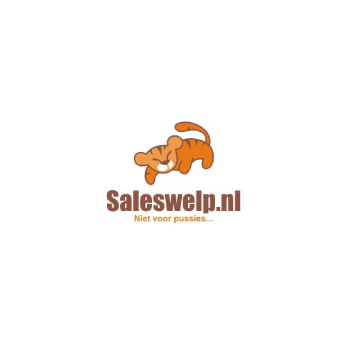 Logo for our website Saleswelp.nl