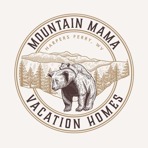 Logo & Business card Mountain Mama