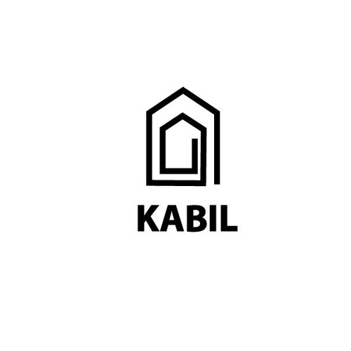 Logo for Kabil, houses and builidings company