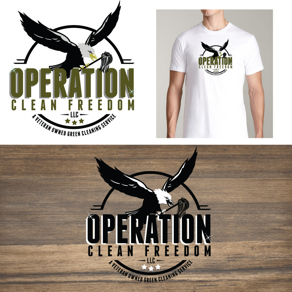 Help Operation Clean Freedom LLC with a new logo