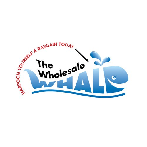 Create the next logo for The Wholesale Whale