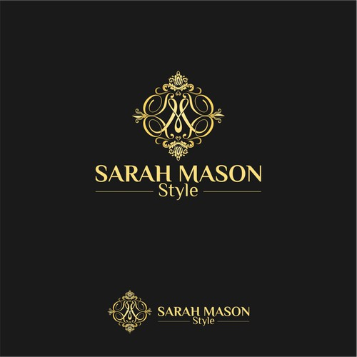 Sarah Mason Style simple design logo