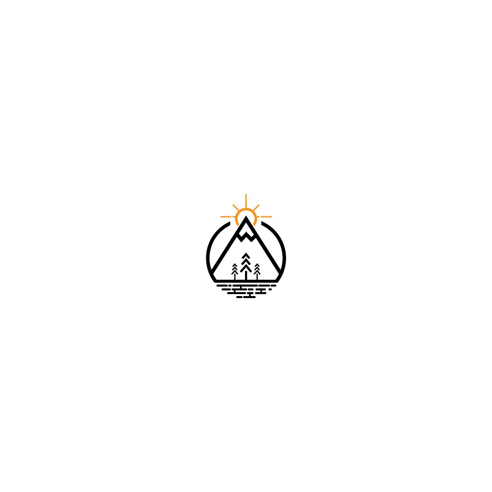 Minimalist Logo Design with Vintage Style for Outdoor Adventure Company
