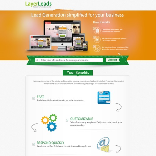 landing page for RevenuPath