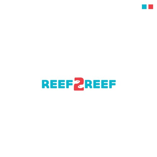 Logo design entry for Reef 2 Reef
