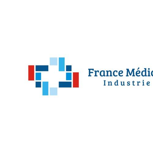 Logo Concept for France Medical Industrie