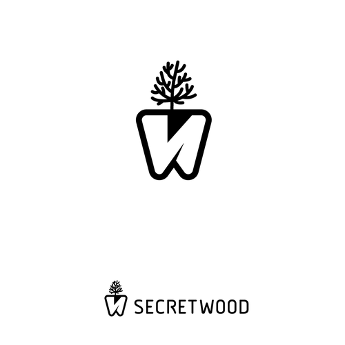 Logo for wood jewel