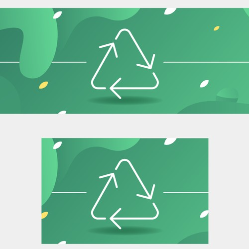 Banners for ecological app