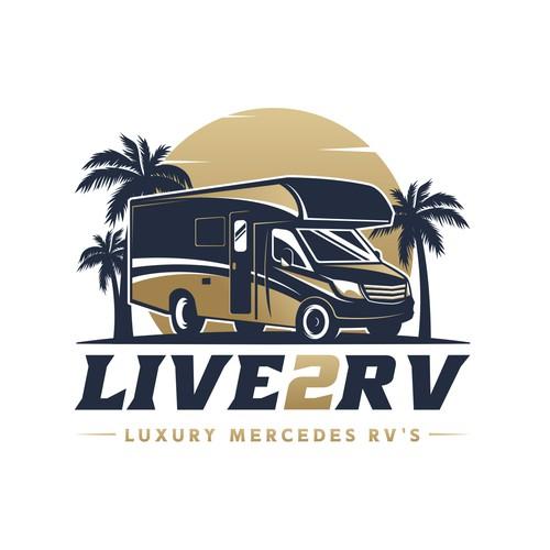 LIVE2RV Logo