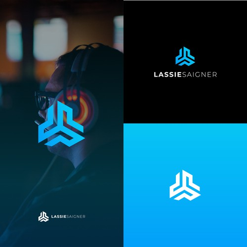Logo concept for Twitch streamer LassieSaigner