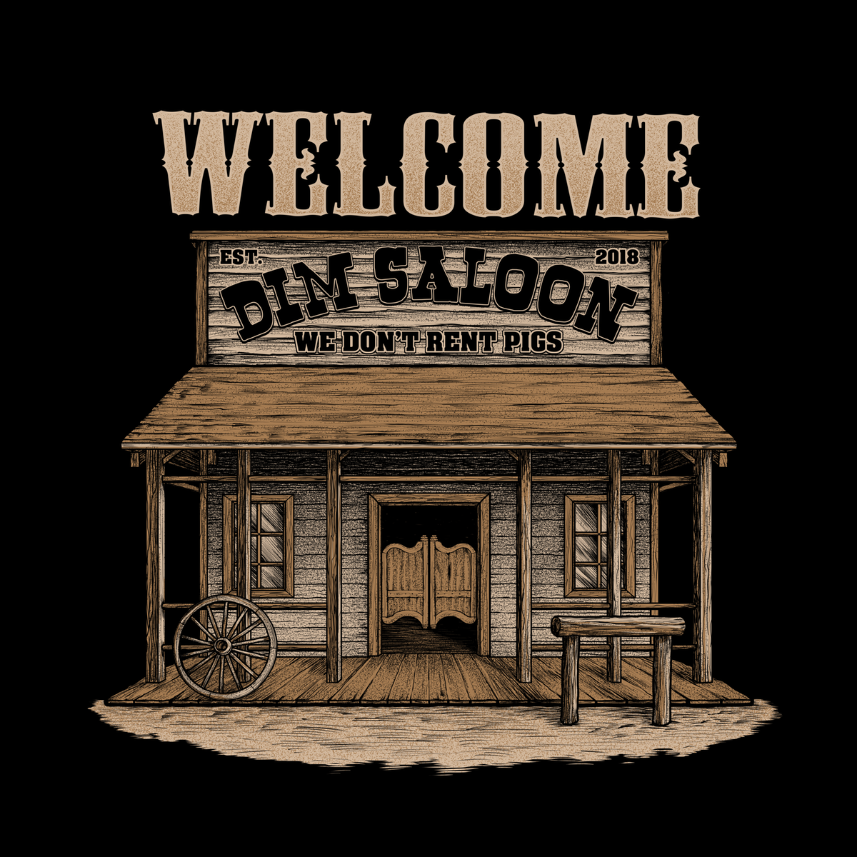 Country Saloon T-Shirt