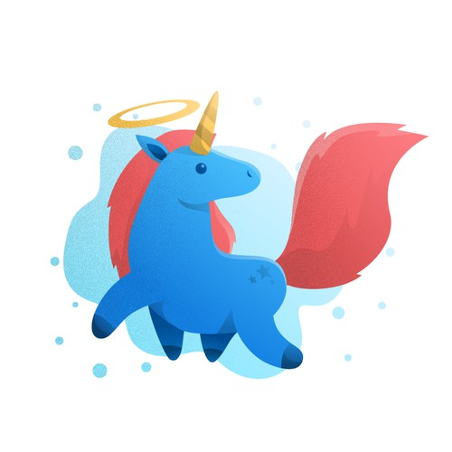 Unicorn Character Design