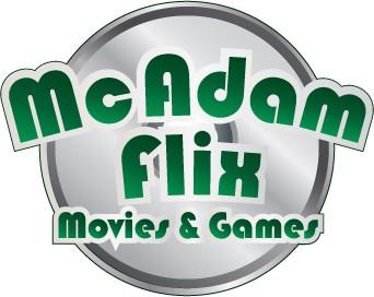 Create the next logo for McAdam Flix