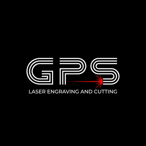 Logo for GPS laser engraving and cutting