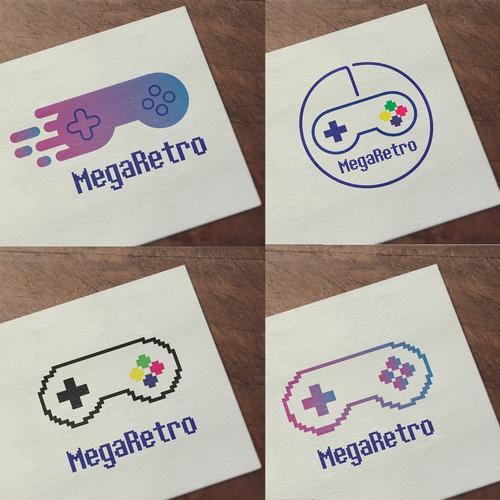 New logo for retro video game console - MegaRetro