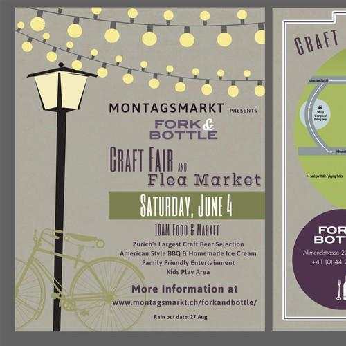 Craft Fair & Flea Market Flyer
