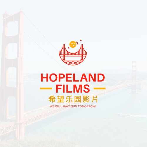 Logo for Hopeland Films 希望乐园影片
