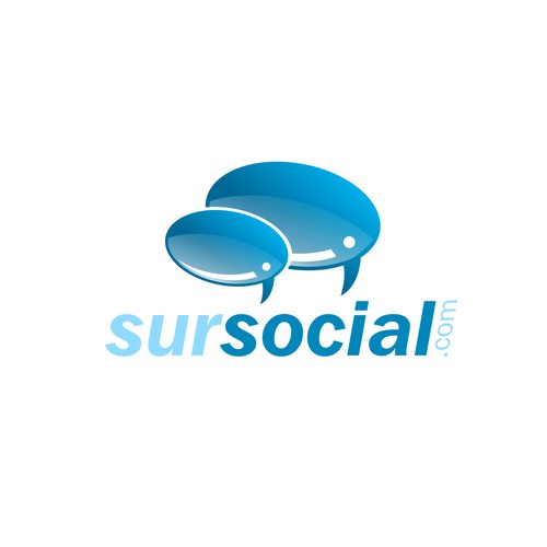 Character logo for sursocial