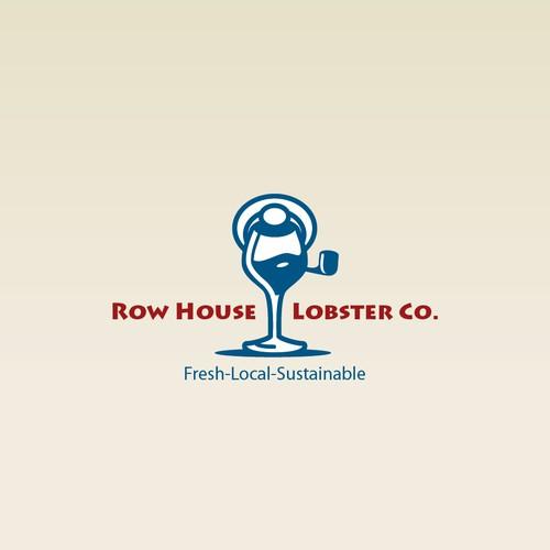 A winning logo for a new lobster-wine bar
