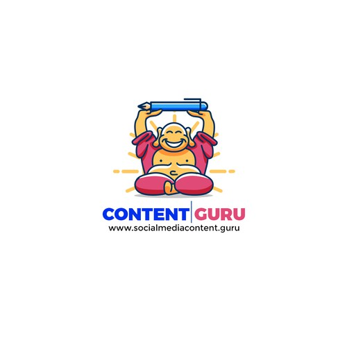 Laughing Buddha Mascot