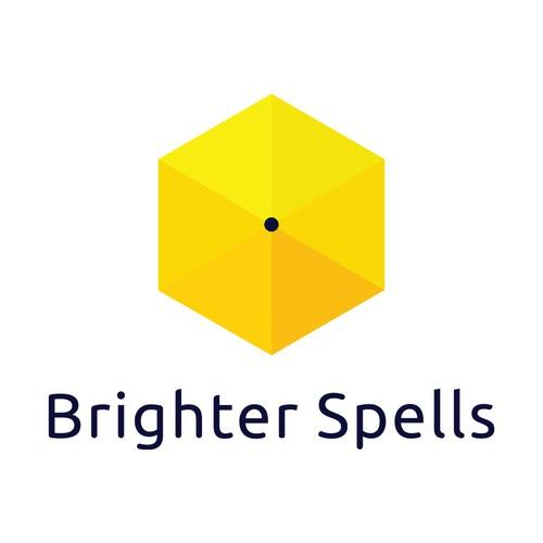 Logo concept for Brighter Spells