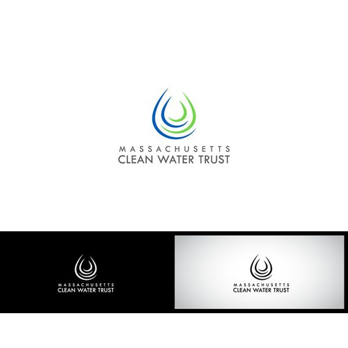 New logo for a Public Finance agency that funds waste water and drinking water infrastructure projects in Massachusetts