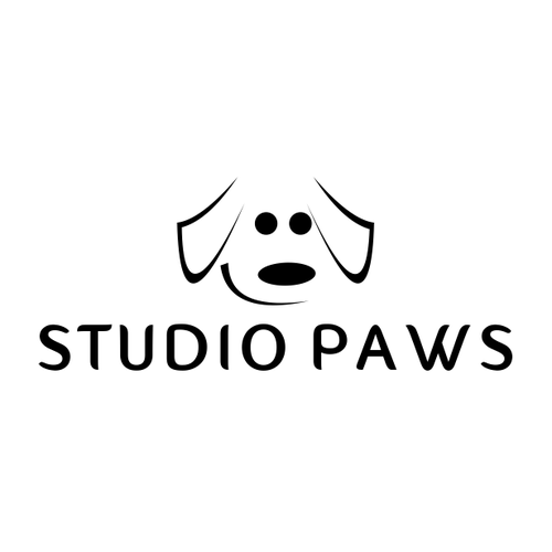 logo for a high end dog grooming salon