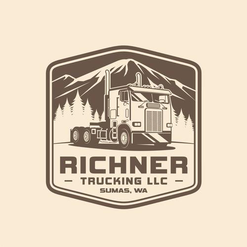 Big Rig Transportation Logo design
