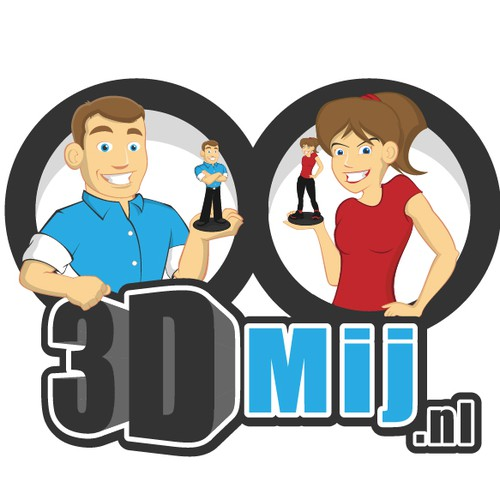 New startup, 3D mini figure of yourself. We need a Logo.