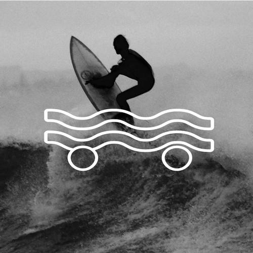 Logo for global surf (skate) brand