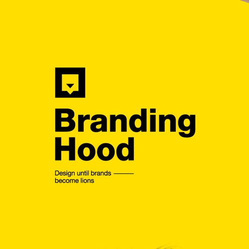 logo concept for communication design company