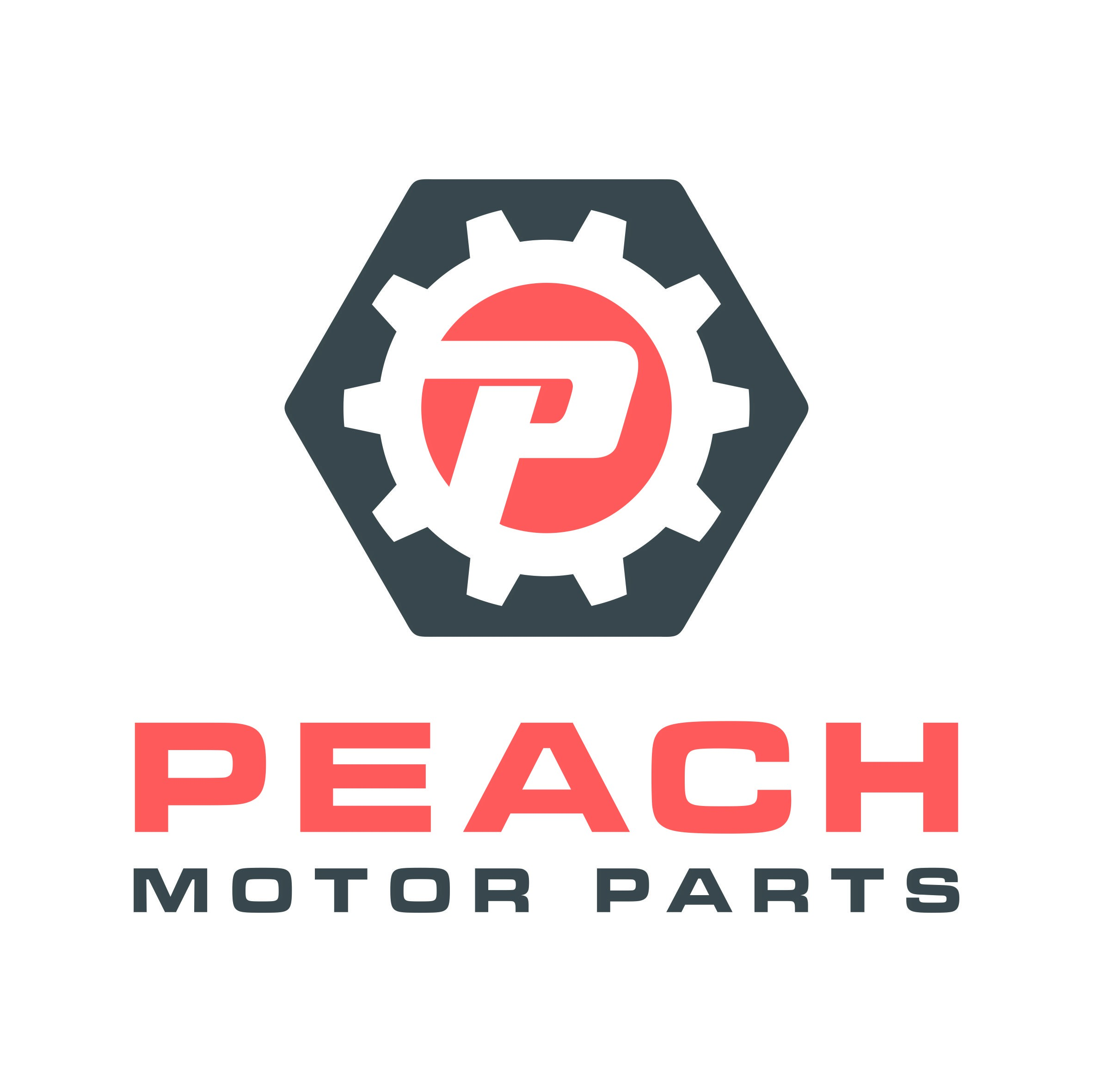 Peach Motor Parts needs a new exciting and professional looking logo!