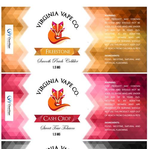 Label Virginia Vape Co.