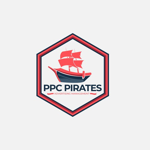 logo concept for ppc pirates
