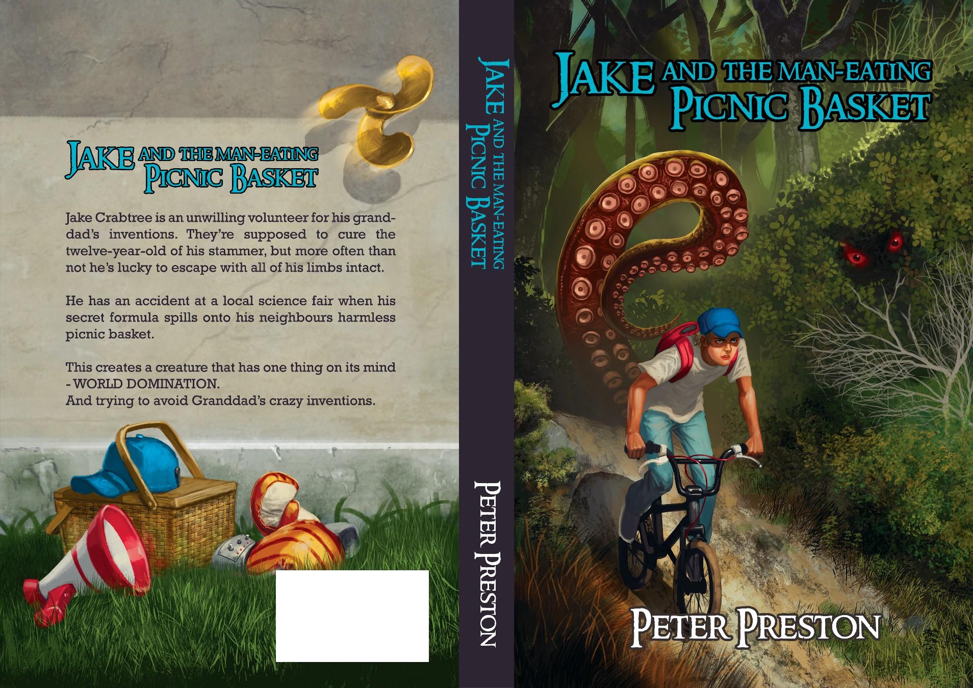 Innovative design for a children's book cover.